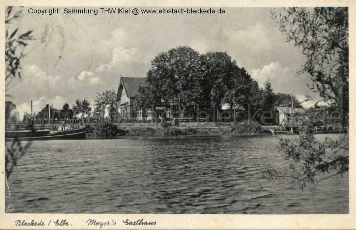 Meyers Gasthaus am Hafen - heute Landhaus an der Elbe