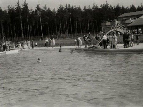 Waldbad 1964 - Rutsche & Nichtschwimmerbecken