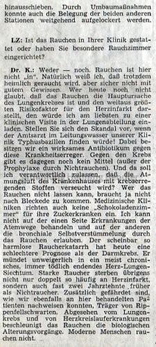 Krankenhaus 1973 - Bericht Teil 7