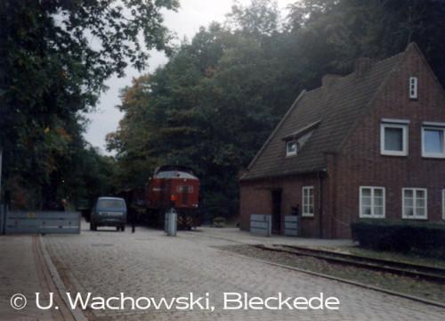 HEW Güterzug Tor Kraftwerk