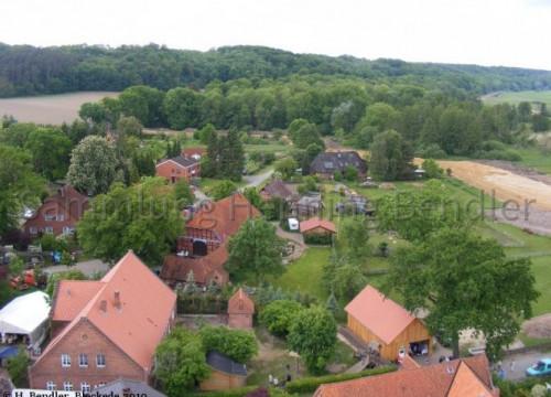 Walmsburg, Blickrichtung Alt Garge