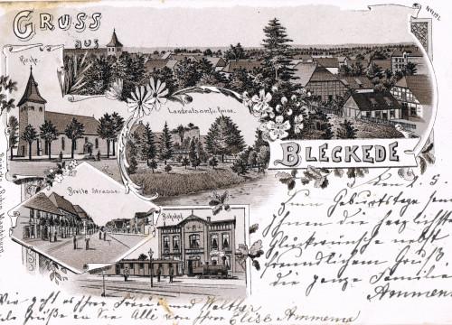 Panorama von Bleckede