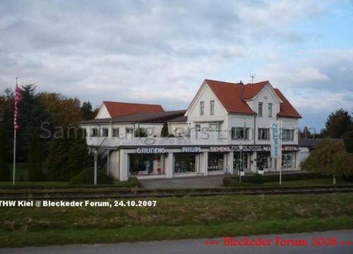 Das Kraftwerk Bleckede im Herbst 2007.