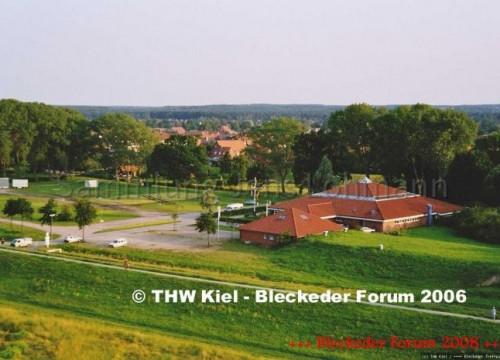 Luftaufnahme von Bleckede 2004