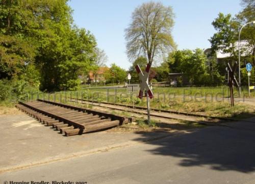 Gleiserneuerung Dahlenburger Landstr.