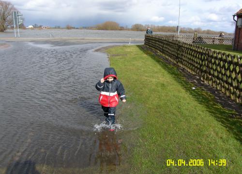 Hochwasser 04.04.2006