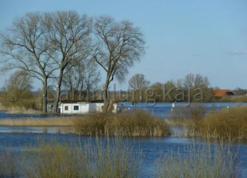 Fährhaus im Hochwasser 02.04.2010