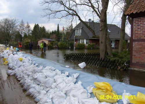 Hochwasser 08.04.2006