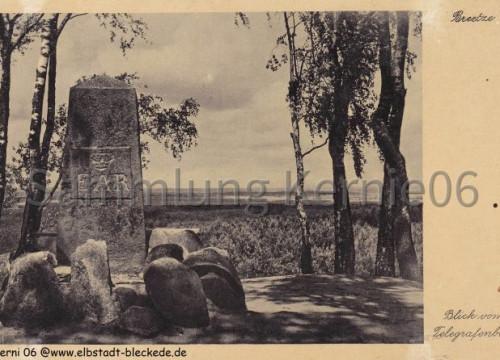 Breetze Telegrafenberg Denkmal