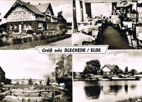 Landhaus an der Elbe um 1974