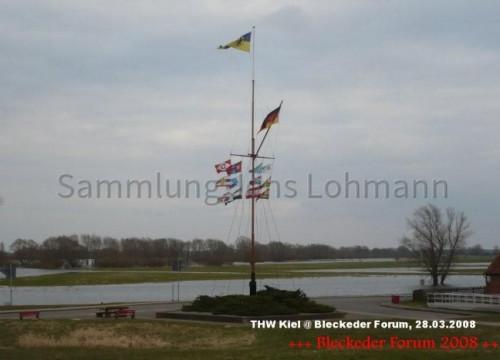Fahnenmast 2008