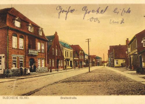 Marktplatz um 1923
