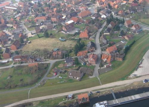 Luftaufnahme Bleckede - Hafen
