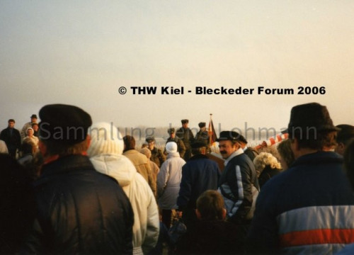 Demonstration Elbe 1989
