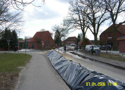 Hochwassser 07.04.2006