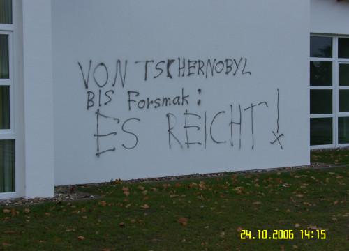 Schmierereien Schulzentrum 2006