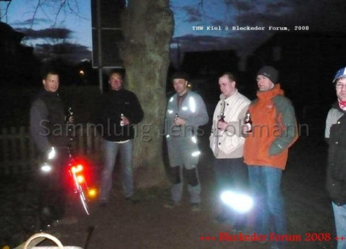 Aufstellung der Informationstafel zum Kleinburg-Stein am 18.03.2