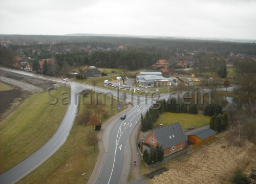 Luftaufnahme Bleckede - Autohaus Harnisch