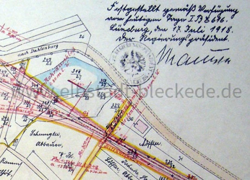 Brack Plan 1918
