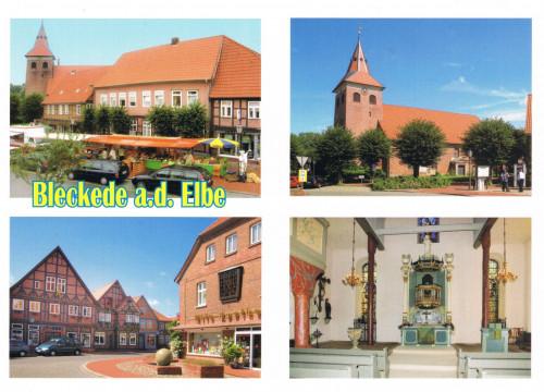 Ansichtskarte Kirche St. Jacobi