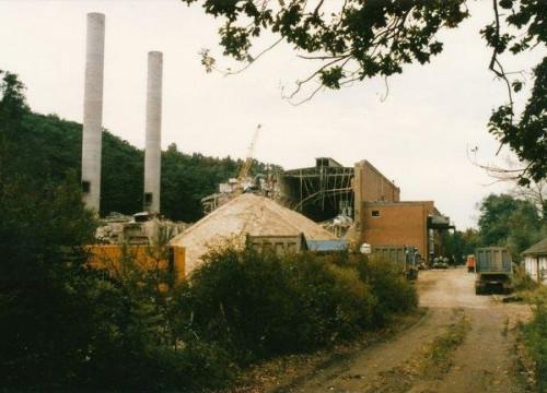 Abriß Kraftwerk Alt Garge