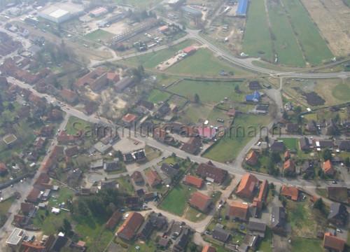 Luftaufnahme Bleckede - Lauenburger Straße