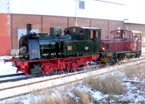 Lok No.2 verlässt das EAW - 2009