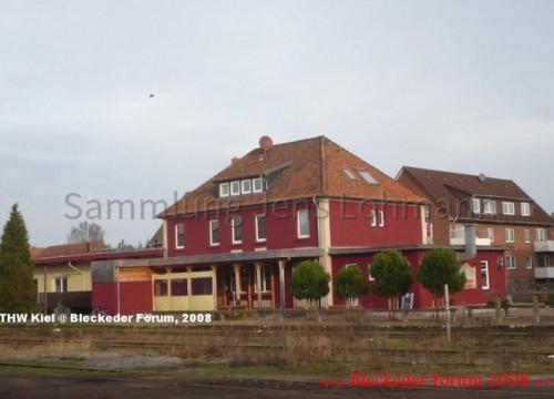 Der Bleckeder Bahnhof 2008