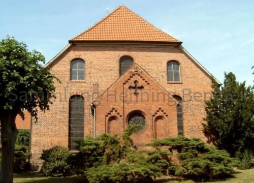 St. Jacobi Kirche - Rückansicht