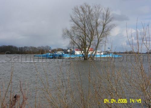 Hochwasser April 2006 - Fähre