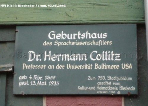 Hermann Collitz Geburtshaus