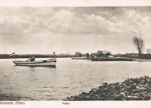 Bleckede Hafen Elbeewer