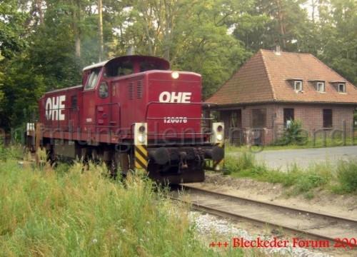 Holzzug am 09.08.2007 vom Waldfrieden
