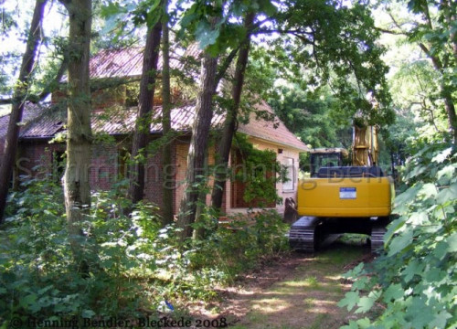 Abriß Krankenhaus 2008 - Pförtnerhaus