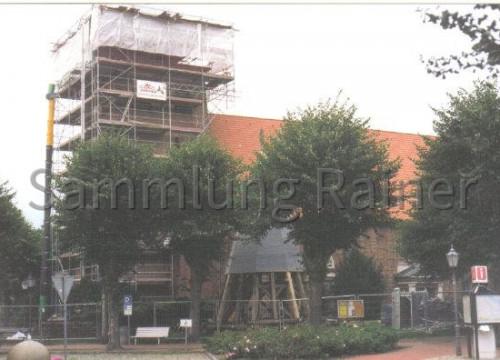 Kirchturmrenovierung 2000