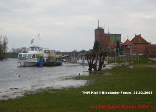 Der Hafen und der Bleckeder Löwe