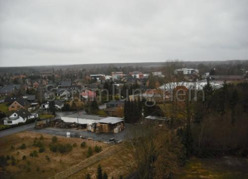 Luftaufnahme Bleckede - Paletten Konau
