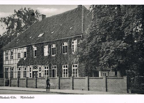 Alte Mittelschule 1956