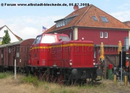 Heideexpress Bahnhof Bleckede