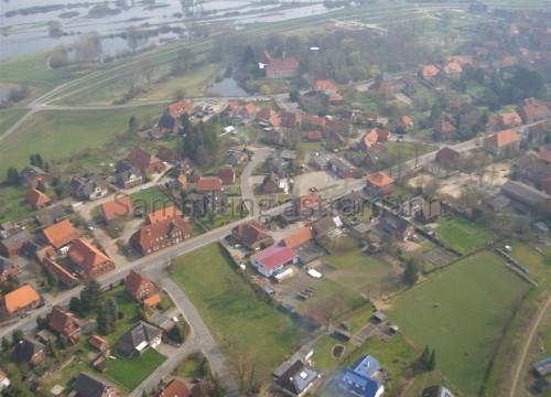 Luftaufnahme Bleckede - Kleinburg