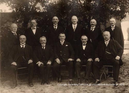 Der letzte Fleckenausschuß in Bleckede 1928