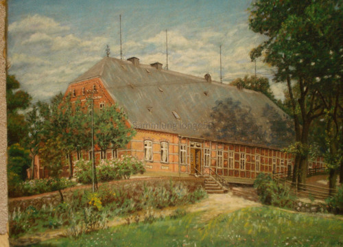 Das Bauerhaus von Heinrich Tippe in Göddingen.