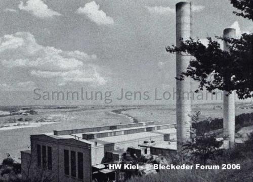 Kraftwerk Alt Garge 1954