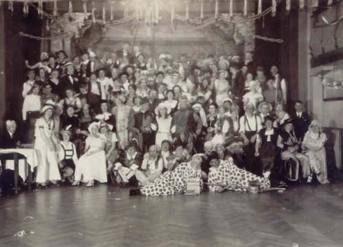Maskerade 1936 Dittmers Hotel