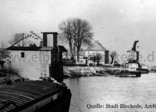 Hafen Bleckede ohne Datum