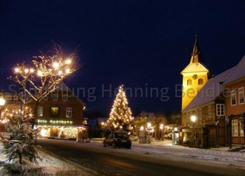 Marktplatz im Winter 2010