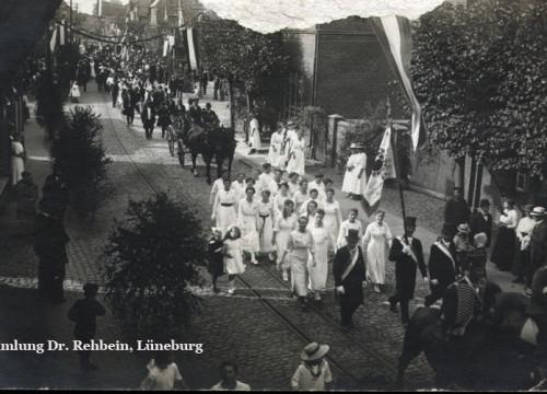 Hannover Umzug 19. August 1919