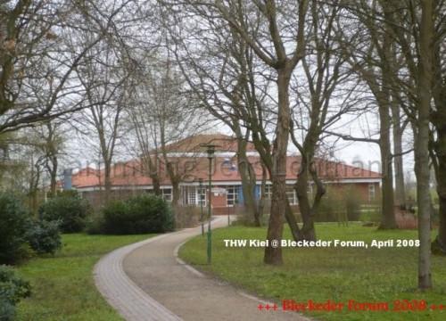 Bürgerpark und Bleckeder Haus im April 2008