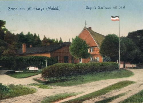Sagers Gasthaus 1908