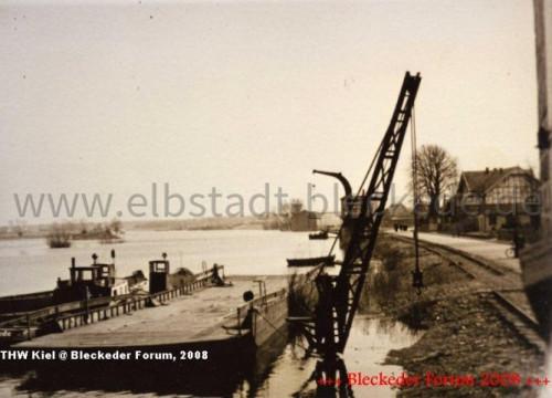Fähre Hafenkran 1935